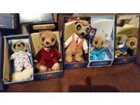 12 collectible Meerkats