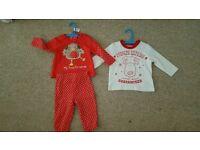 Baby pyjamas 6-9m