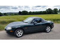 MX5 UK car, Low Mileage, Cambelt changed, Only 2 Owners inc rare hardtop,Long MOT, Priced to sell
