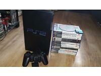 ps2 playstation2 13 games very good condition all cables (tested)