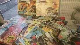 25 Commando Comics fromthe 1980's