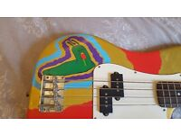 Customised Bass Guitar