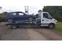 24/7 car/van recovery, breakdown recovery, car transportation