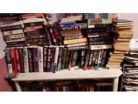 Job lot of books - 300+ paperback and hardback books - ideal for boot sale