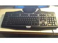 Logitech G19 Gaming keyboard