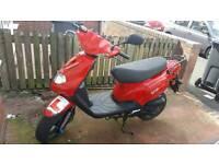 Sold As Seen TGB 202 Classic 50cc Moped Insurance Mot & Road Tax Valid 31 Aug 2017 Free Helmet