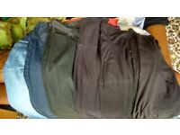 Big bundle size 8/10 maternity clothes jeans skirts etc incl Seraphine, Isabella Oliver, M&S, Gap