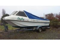 seahog commadore 17'6 fishing boat