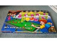 Pool and snooker set