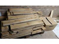 Solid Oak K2 flooring wood (Used)