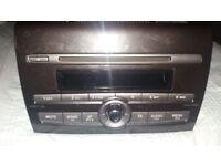 Fiat Bravo cd player