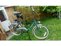 Folding bike bicycle mistral metro rail boot compact commuter road city