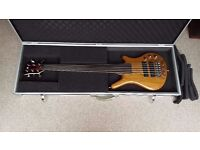 Warwick Pro series (2014) Thumb BO6 Natural fretless
