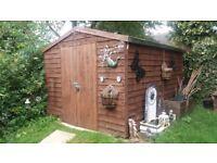 10 x 8 garden shed