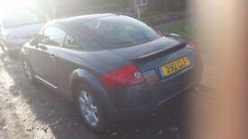 Audi TT with private plate 54Reg, long MOT, fully serviced Spent over £500