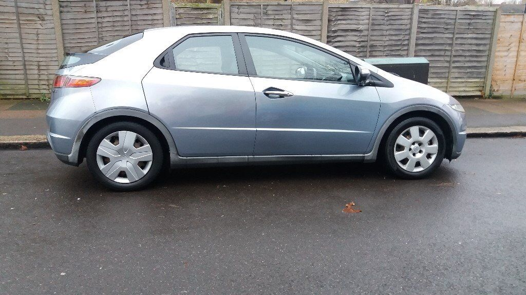 2007 Honda Civic 1339 Cc 5 Dr Genuine Average Mileage Full Service History Mot Tax