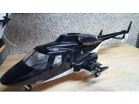 Airwolf 600 size body for rc model heli