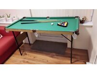 Snooker and Pool Table