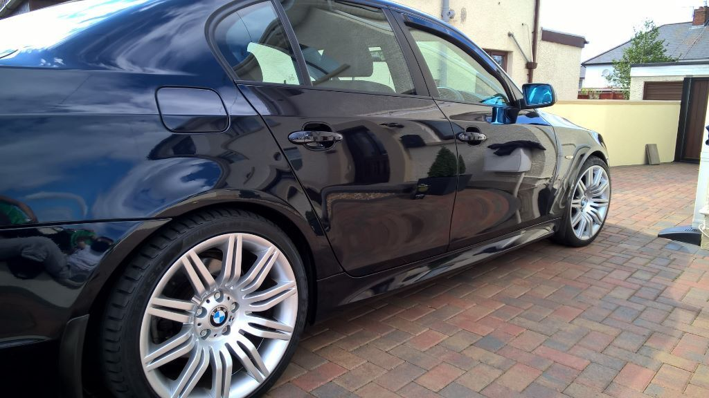 immaculate fully loaded 2006 bmw e60 530i m sport carbon black