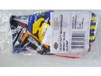 Dickies Mens Kong Heavy Duty Waterproof Impact Workwear Gloves SIZE XL (10) BRAND NEW SEALED