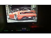 awsome gaming pc setup!! bargin!!