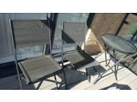 3 piece balcony/patio/garden furniture