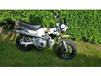 Zeth Hunter 125cc Monkey bike minibike Honda Dax/Trials 70 Replica