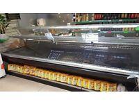 QUICK SALE!!! Commercial 3.7m serve over fridge.