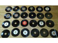 40 x 7 inch - ex juke box 90's dance shamen postive gang praise ttf mark oh d ream baby d snap