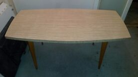 1960s Benchairs Dining Table