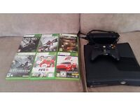 x box 360 and games including assassins creed seldom used as new