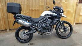 Immaculate condition Triumph Tiger 800 XC ABS