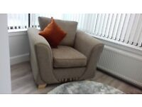 Ex DFS single sofa chair (2 available £100 each) like new - never been sat on. CAN DELIVER