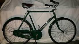 Vintage 1949 Raleigh bicycle