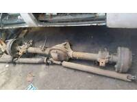 Rear axel Ford transit smiley 1994