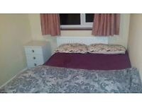 Furnished Double Room with a Private Bathroom.