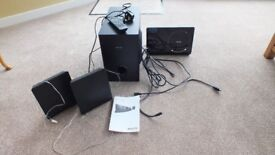 Philips HTS4600 Home Theatre System, DVD,MP3,CD Player. FM Radio