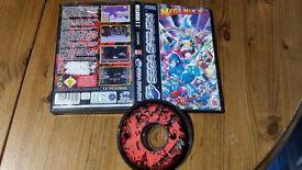 Megaman X3 Sega Saturn No Manual