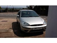 FORD FOCUS LX 1.6 SPARES OR REPAIRS