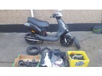 Piaggio zip 50cc new resprayed black