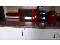 Russel Hobbs Microwave,kettle,toaster and bread bin
