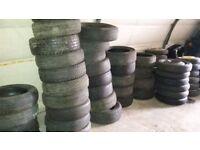 New / part worn / steel / space saver / tyres / alloys / Toyota