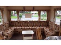 bargain static caravan ayrshire scotland
