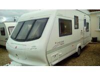 Elddis cyclone ex2000 5berth touring caravan
