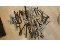 Spanners, tools and cables