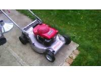 Lawnflite 553 lawnmower with Honda engine
