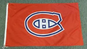 Montreal Canadiens Flag - 5' X 3' Large