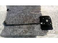Ford transit spare wheel carrier