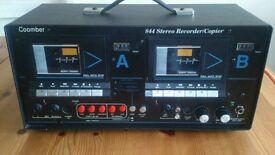 Coomber 844 Stereo Cassette Recorder Copier