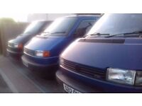 VW Transporter T4 2.5 TDi SWB and LWB available